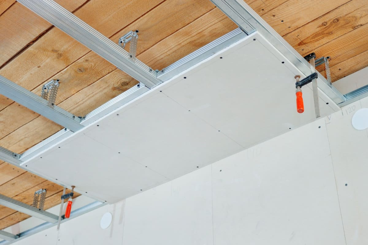 Gipsplaten plafond prijs per m2