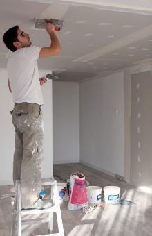 Voorbeeld vals plafond gyproc