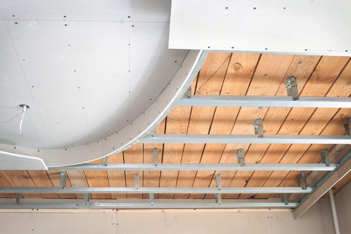 Voorbeeld vals plafond