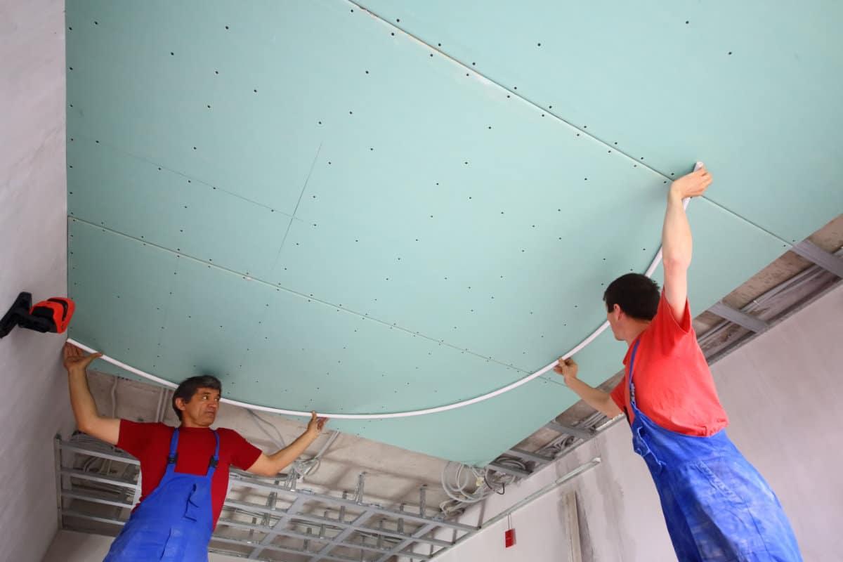 plafond gyproc waterwerend
